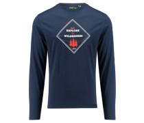 """Herren Shirt """"Akka"""" Langarm, marine"""