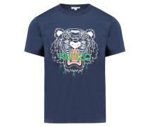 Herren T-Shirt, indigo
