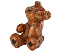 Damen Schlüsselanhänger Visetos Charm Bear, Braun