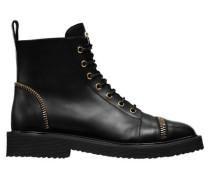 Damen Boots, Schwarz