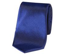 """Herren Krawatte aus Seide """"schmal"""" 6 cm, marine"""