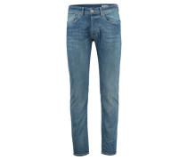 Herren Jeans Mario Slim Fit, Blau