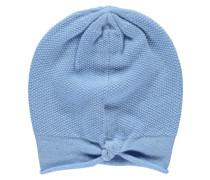 Damen Kaschmir-Mütze, Blau