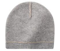 Damen Mütze, grau