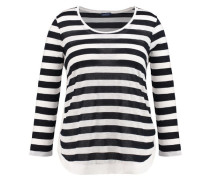 Damen Shirt Dreiviertelarm - Plus Size, marine