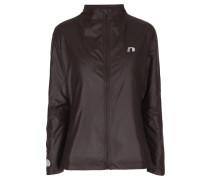 Damen Laufjacke Imotion Warm Jacket, Braun