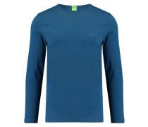 Herren Shirt Langarm, blau