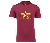 Herren T-Shirt, burgund