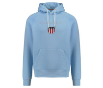 Herren Kapuzensweatshirt Shield Sweat Hoodie, Blau