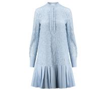 Damen Blusenkleid, bleu