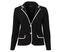 Damen Blazer - Plus Size, Schwarz