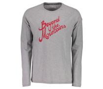 Herren T-Shirt Genua Langarm, Grau
