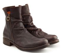 Ankle Boots Eternity aus Leder mit Zippern
