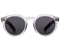 Sonnenbrille Leonard II mit Bügeln in Schildpatt-Optik
