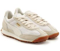 Sneakers Easy Rider aus Veloursleder, Leder und Mesh