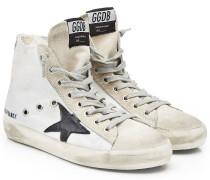 High Top Sneakers Francy mit Veloursleder