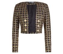 Kurze Tweed-Jacke mit Décor