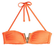 Bandeau-Bikini-Top mit Schnalle