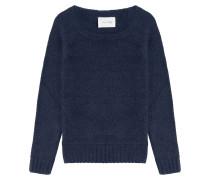 Strick-Pullover mit Wolle und Mohair