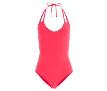 Swimsuit mit Neckholder und Cut-Outs