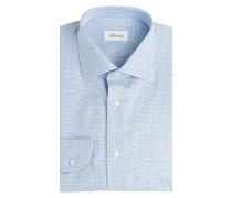Kariertes Hemd aus Baumwolle