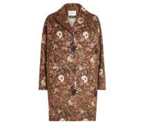 Bestickter Mantel aus Wolle und Mohair