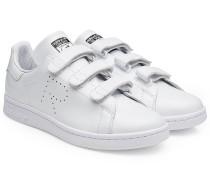 Sneakers Stan Smith aus Leder mit Klettverschluss