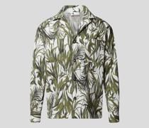 Freizeithemd mit Allover-Print