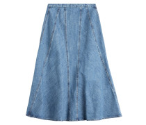 Flared-Skirt aus Denim