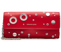 Verziertes Portemonnaie aus Leder mit Gliederkette