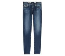 Cropped Skinny Jeans aus Baumwoll-Stretch