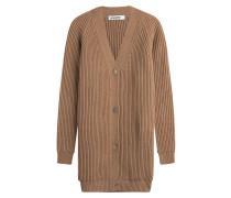 Long-Cardigan aus Wolle und Kaschmir