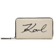 Portemonnaie K/Signature aus Leder