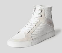 High-Top-Sneaker mit Schnürung