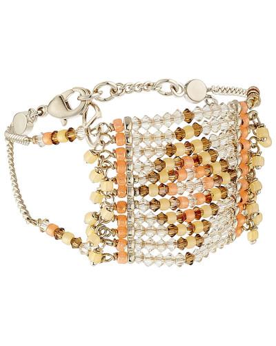 Armband mit bunten Schmuckperlen