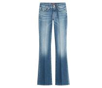 Bootcut-Jeans aus Baumwoll-Stretch