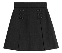 A-Line-Skirt aus Wolle
