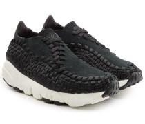 Gewebte Sneakers Air Footscape mit Veloursleder