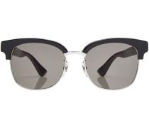 Sonnenbrille mit Metall-Akzenten