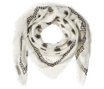 Bedruckter Schal mit Seide
