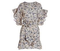 Bedrucktes Kleid Delicia aus Leinen