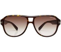 Sonnenbrille mit Logo-Akzent