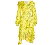 Asymmetrisches Kleid Margot mit Print