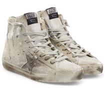 High-Top-Sneakers Francy aus Baumwolle