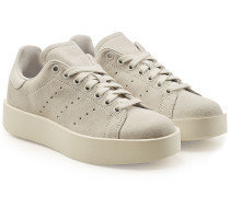 Plateau-Sneakers Stan Smith aus Veloursleder