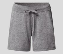 Shorts aus Kaschmir