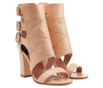 Block-Heel-Sandalen Felicite aus Leder