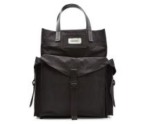Tasche mit Lederdetails