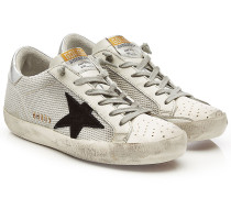 Sneakers Super Star mit Leder