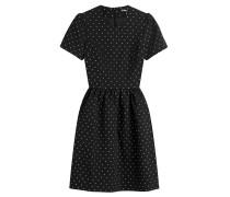 Besticktes Kleid mit Baumwolle